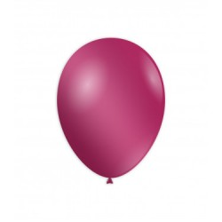 Baloane Latex Metalizate Roz Fucsia 30 cm,  Rocca Fun Factory, GM110 67