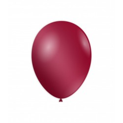 Baloane Latex Metalizate Bordo 30 cm,  Rocca Fun Factory, GM110 76