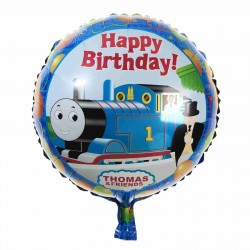 Balon Folie 45 cm, Thomas and Friends - Happy Birthday