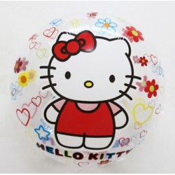 Balon Folie Transparent 45 cm, Hello Kitty
