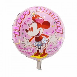 Balon Folie metalizata Minnie Mouse La multi ani, 45 cm