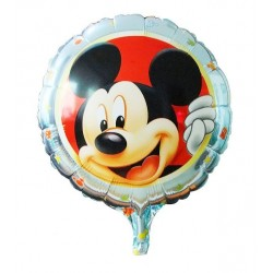 Balon Folie metalizata Mickey Mouse, 45 cm Baby Blue