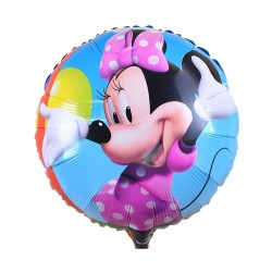 Balon folie metalizata, 45 cm, Minnie Mouse