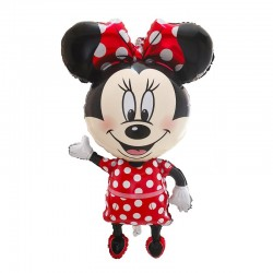 Balon Folie Figurina Minnie Mouse, 68 cm,
