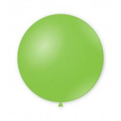 Balon Latex JUMBO 90 cm Verde 18
