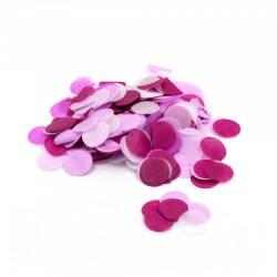 Confetti hartie, forma rotunda culori de roz, 1.8 cm, 15 g, Rocca Fun...