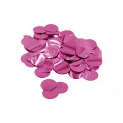 Confetti culoare metalica Fucsia 2,3 cm, 15 g, Rocca Fun Factory