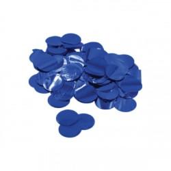 Confetti culoare metalica Albastru 2,3 cm, 15 g, Rocca Fun Factory