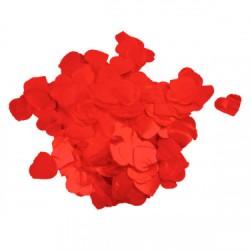 Confetti Inima Rosii Metalizat 2.3 cm, 15 g, Rocca Fun Factory