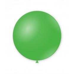 Balon Latex JUMBO 83 cm, Verde 22, Rocca Fun Factory