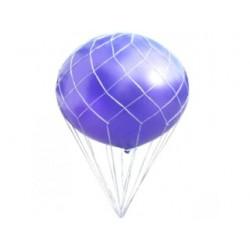 """Plasă albă pentru decor baloane """"cu aer cald"""", 90 cm"""