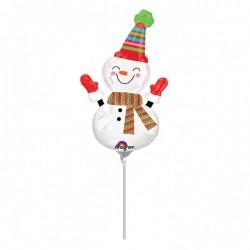 Balon Folie Mini Figurina Om de Zapada Zambitor, 23 cm, Amscan...
