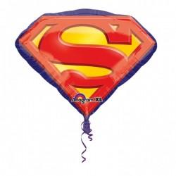 Balon Folie Figurină Mare 66 x 50 cm, Emblema lui Superman, Superman...