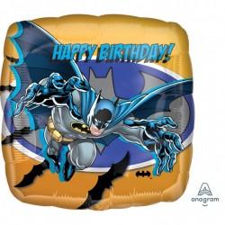 Balon Folie Batman Happy Birthday, 45 cm, Amscan 17752 01