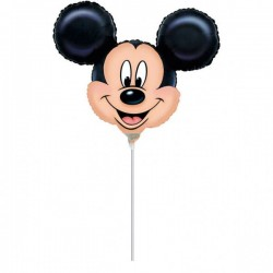 Balon Folie Mini Figurină Mickey Mouse, A30 Amscan 07889 02