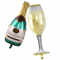 "Set baloane ""POP the Champagne"""