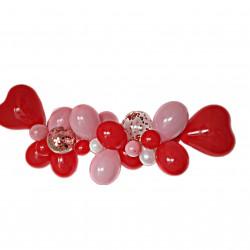 SET BALOANE Ghrilanda Organica pentru Valentine's Day / Dragobete