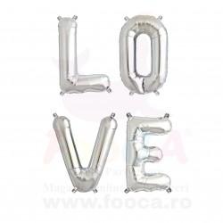 """SET """"LOVE"""" din 4 Baloane Folie FooCA Litere de 66 cm, Diverse Culori!!!"""
