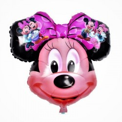 Balon Folie Figurina Cap Minnie Mouse, Minnie si Mickey 50 x 50 cm