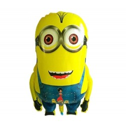 Balon figurina folie Minion, 38 x 60cm