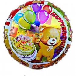 Balon folie metalizata cu Ursulet Teddy Bear, 45cm