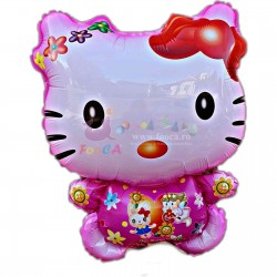 Balon folie figurina Hello Kitty, 50x43 cm