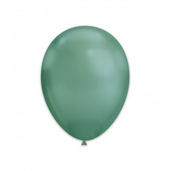 Baloane Latex Cromate, Verde 33 cm, Rocca Fun Factory