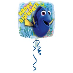 Balone Folie Dory Happy Birthday, 43 cm, Amscan 3230701