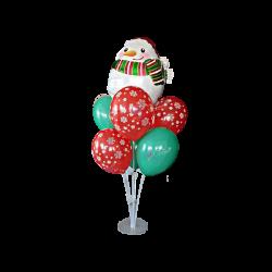 Set decor masă de Crăciun din baloane