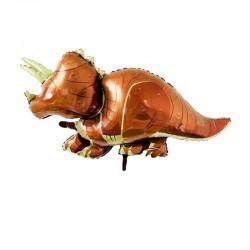 Balon figurina folie Dinozaur Triceratops, FooCA, 50 x 90 cm