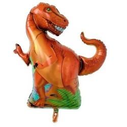 Balon figurina folie Dinozaur T-Rex, 70 x 60 cm
