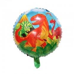 Balon folie cu Dinozauri, FooCA, 45 cm