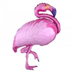 Balon figurina Flamingo, FooCA, 58 x 70 cm