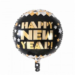 "Balon folie ""HAPPY NEW YEAR"", FooCA, 45cm"