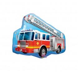 Balon folie Masina de Pompieri, FooCA, 60 x 48 cm