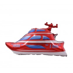 Balon figurina Barca de Viteza, Yacht, FooCA, 90 x 48 cm
