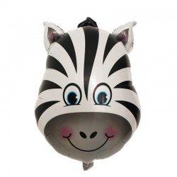Balon figurina Zebra, FooCA, 48 cm