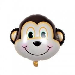 Balon figurina Maimuta Simpatica, FooCA, 48 cm