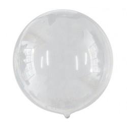 Balon BOBO poliuretan transparent, FooCA, 45 cm