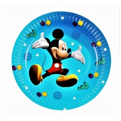 Set 10 Farfurii 18 cm cu Mickey Mouse