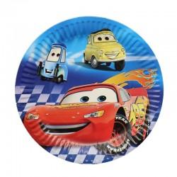 Set 10 Farfurii 18 cm cu Masini Cars