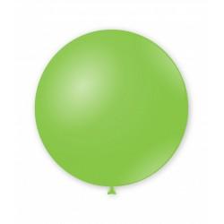Balon latex Jumbo pentru decor, 80 cm, Verde, G220 18