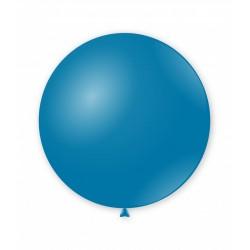 Balon latex Jumbo pentru decor, 80 cm, Albastru, G220 52