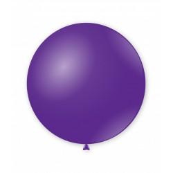 Balon latex Jumbo pentru decor, 80 cm Violet, G220 84