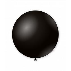 Balon latex Jumbo Negru 83 cm, G200 15