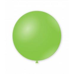 Balon Latex JUMBO 83 cm Verde Fistic, G200 18