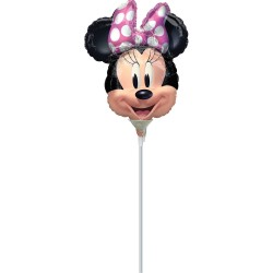 Balon Folie Mini Figurină Minnie Mouse, A30 Amscan 4101002