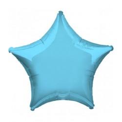 Balon Folie in forma de Stea Baby Bleu, 25 cm, FooCA
