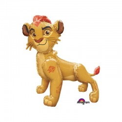 Balon Folie figurina Airwalker Regele Leu - Lion Guard - 121 x 116 cm,...