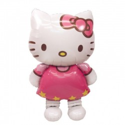 Balon Folie Figurina AirWalker Hello Kitty - 76 x 127 cm Amscan 2347663